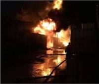 إصابة 7 عمال باختناق في حريق مخزن فندق بالغردقة