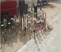 غلق 4 مقاهى ومصادرة 42 شيشة بالشرقية