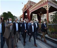 رئيس الوزراء يزور حديقة «فريال».. ويتفقد تطوير شارع عاطف السادات
