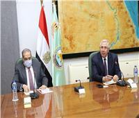 وزيرا الزراعة والإنتاج الحربي يبحثان الإسراع بتطوير مراكز تجميع الألبان