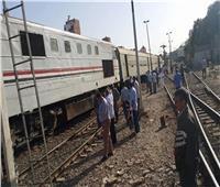 إصابة شابين في حادث تصادم قطار ودراجة بخارية بنجع حمادي