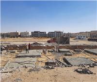 بدء تنفيذ مشروع موقف النقل الجماعي الداخلي بمدينة 6 أكتوبر