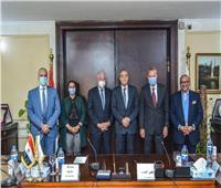 بروتوكول تعاون بين «التموين» و«جنوب سيناء» لإنشاء منطقة لوجيستية تجارية