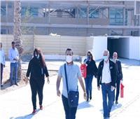توافد ضيوف مهرجان شرم الشيخ للمسرح الشبابي استعدادا لانطلاقه غدا  صور