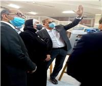 وزيرة التجارة تتفقد مبنى الجناح المصري بمعرض إكسبو دبي 2020