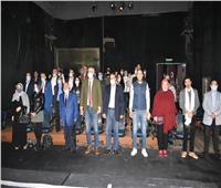 افتتاح «جنة هنا» على مسرح الغد| صور