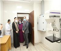 افتتاح توسعات المدرسة الأسقفية ومستشفى هرمل بالمنوفية