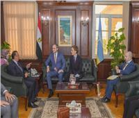 محافظ الإسكندرية يلتقي بسفير بيلاروسيا لبحث سبل تعزيز التعاون