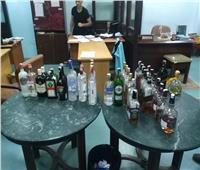 إحباط 4 محاولات تهريب لكمية من المشروبات الكحولية