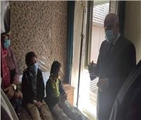 صور  محافظ الجيزة يزور مصابي حادث أتوبيس الهرم