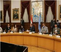 محافظ القاهرة يعقد اجتماعا مع مدير مكتب مصر لبرنامج الأمم المتحدة