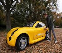 فيديو| طلاب هولنديون يبتكرون سيارة كهربائية من النفايات