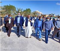 وزير الزراعة: إنشاء بئر بتكلفة ٥ ملايين جنيه بمركز بحوث الصحراء بسيوة