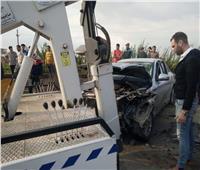 مصرع وإصابة ٣ أشخاص فى تصادم مروع بطريق «دمنهور - دسوق»