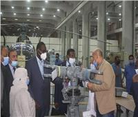 «العربية للتصنيع» لوفد سوداني: نضع كافة الإمكانيات لتلبية احتياجات قارتنا الإفريقية