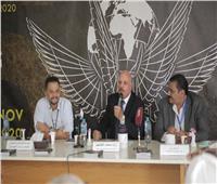 حفل توقيع كتاب «جسد الممثل» بمهرجان شرم الشيخ الدولي للمسرح  صور
