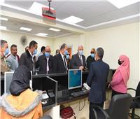 افتتاح مركز خدمة المواطنين المطور لتقديم الخدمات التموينية بقنا