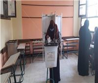 إقبال كبير من السيدات على لجان البدرشين في إعادة «النواب»