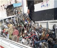 غلق المقاهي ومصادرة «الشيش» بسمنود