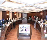 محافظ الإسكندريةيستقبل بعثة الجامعة العربية لمتابعة إعادة «النواب»