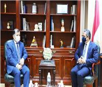 «العناني» يبحث مع سفير طاجيكستان دعم التعاون السياحي
