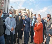 رئيس جهاز تعمير القاهرة الكبرى يتفقد أعمال تطوير شارع فريدا ندا