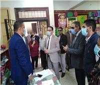معاون محافظ بني سويف يتفقد لجان انتخابات إعادة «النواب»