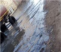 50 ألف نسمة في «إيتاي البارود» يواجهون الغرق في مياه الصرف الصحي.. صور