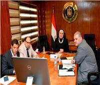 وزيرة الصناعة تستعرض الإصلاحات الهيكلية بالاقتصاد المصري