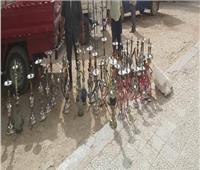 غلق عدد من المقاهي المخالفة ومصادرة 33 شيشة بمحافظة الشرقية