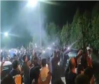 فرحة الصعايدة بدخول البرلمان.. مزمار بلدي وطلقات في الهواء  فيديو