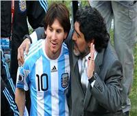 ميسي عن وفاة مارادونا: يتركنا ولكنه لا يغادر