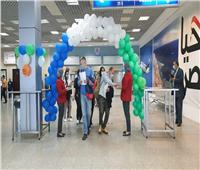 وصول أولى الرحلات القادمة من أوزبكستان مطار شرم الشيخ