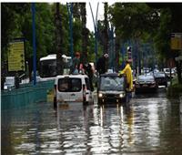 فيديو  السيول تغرق منازل وشوارع في إسرائيل