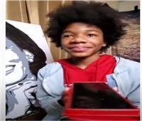 كاميلا هاريس تشكر طفلاعلى رسم صورتها| فيديو