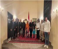 السفير المصري بـ«جيبوتي» يبحث تعزيز التعاون مع وزيري «الإسكان والشباب»