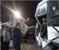 عاجل|إصابة 6 أشخاص فى تصادم مروع بطريق دمنهور دسوق