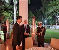السفير الكوري يحتفل بالعيد الوطني واليوبيل الفضي للعلاقات المصرية الكورية