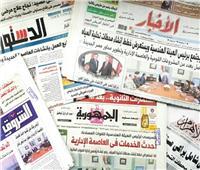 نشاط الرئيس وقمة الأهلي والزمالك يتصدران الصحف