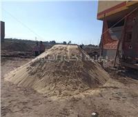إيقاف أعمال الحفر لأحد أبراج منطقة شلبي بحي غرب المنيا