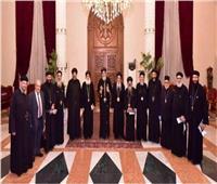 الأنبا باخوم يترأس احتفال كنيسة الأقباط الكاثوليك بذكرى تأسيسها