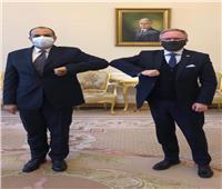 رئاسة جمهورية بولندا تودع السفير المصري بمقر القصر الرئاسي