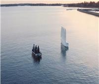 فيديو| سفينة سويدية مزودة بأشرعة قابلة للتمدد والدوران