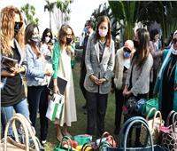 وزيرة التخطيط تزور معرض «صنع في مصر»