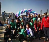 فريق وزارة التموين لكرة القدم يصعد لنهائي بطولة الوزارات
