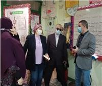 التشديد على تطبيق الإجراءات الاحترازية بمدارس العبور وشرق شبرا