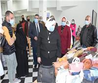 افتتاح معرض «تراثنا» للحرف اليدوية بجامعة القناة