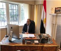 سفير مصر بكندا يشارك في إحياء اليوم العالمي للتضامن مع الفلسطينيين