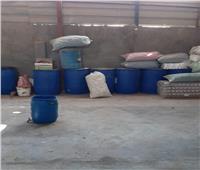 «المنوفية»: ضبط مصنع مخصبات زراعية بدون ترخيص