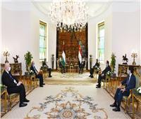 السيسي يستقبل الرئيس الفلسطيني في قصر الاتحادية | فيديو